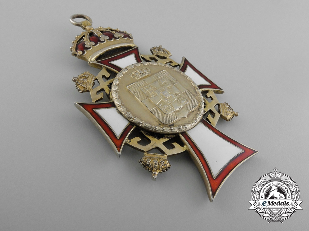 A Greek Royal Order of St. George and St. Constantine, Grand Cross Badge