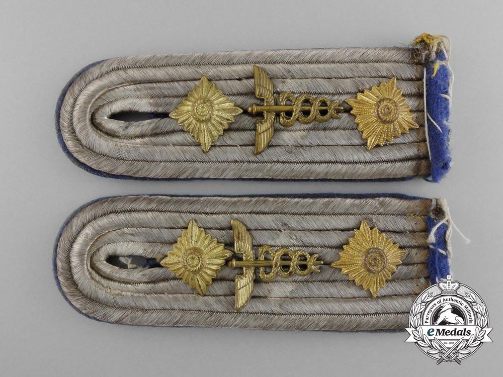 A Matching Set of Imperial German Medical Administration Hauptmann Shoulder Boards