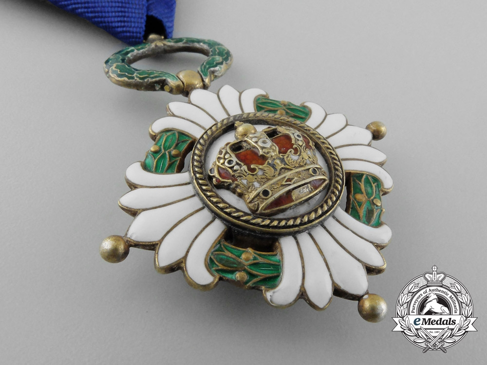 An Order of the Yugoslav Crown, 4th Class (1929-1941)