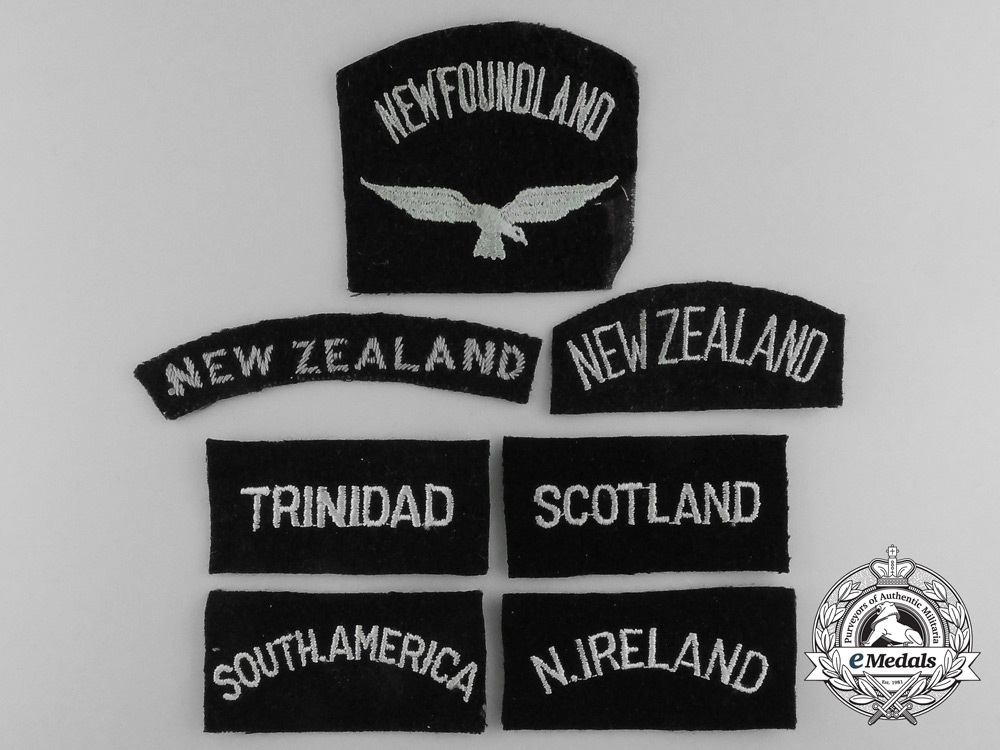 A Lot of Seven RAF Nationality Titles