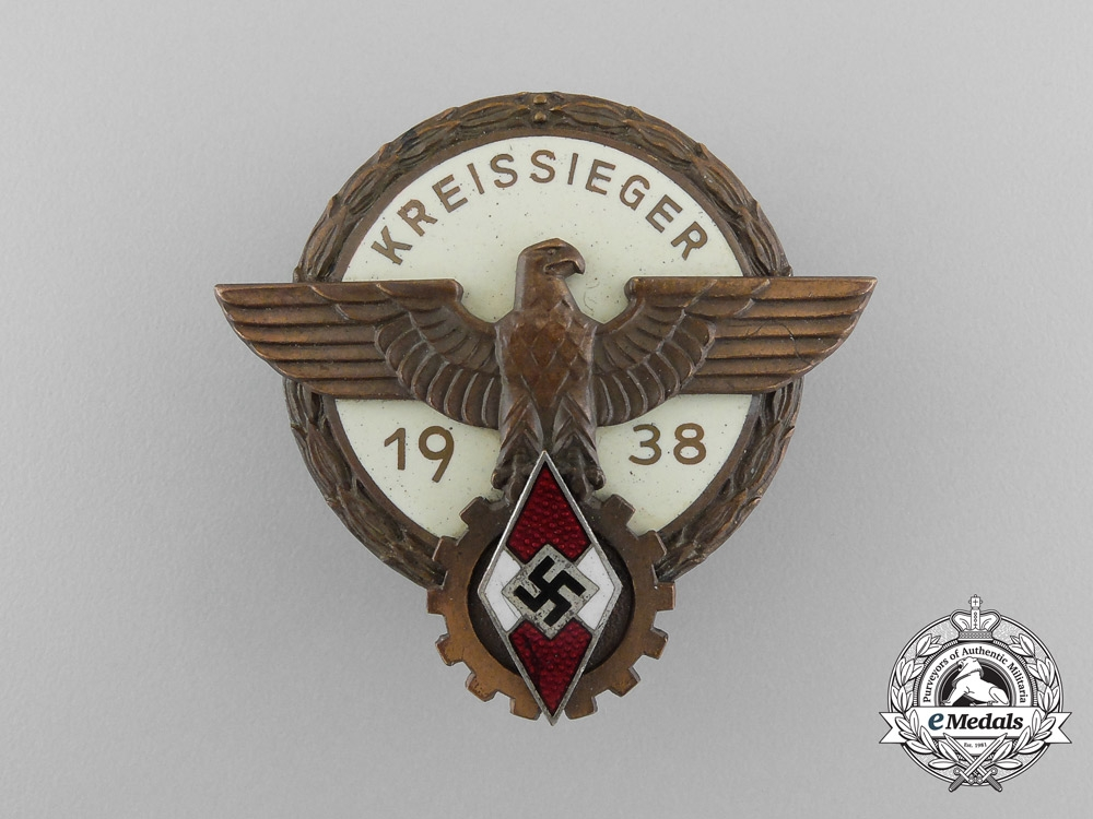 A 1938 Victor's Badge in the National Trade; Type II by G. Brehmer