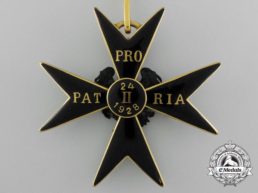 An Estonian Order of the Eagle Cross; 2nd Class Grand Commander Set