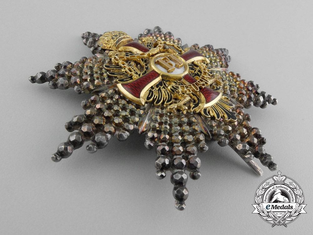 An Austrian Order of Franz Joseph; Commander's Breast Star Type I c.1855