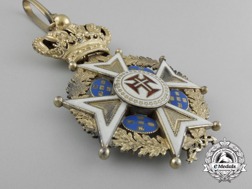 Portugal, Kingdom. An Military Order of Christ, Commander, c.1900