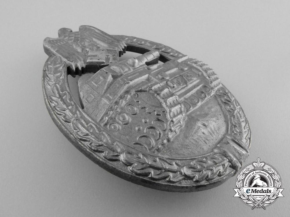 A Mint Silver Grade Tank Badge