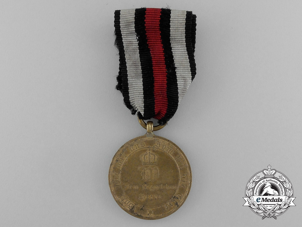 A Prussian War Merit Medal for Combatants 1870-1871 in Box
