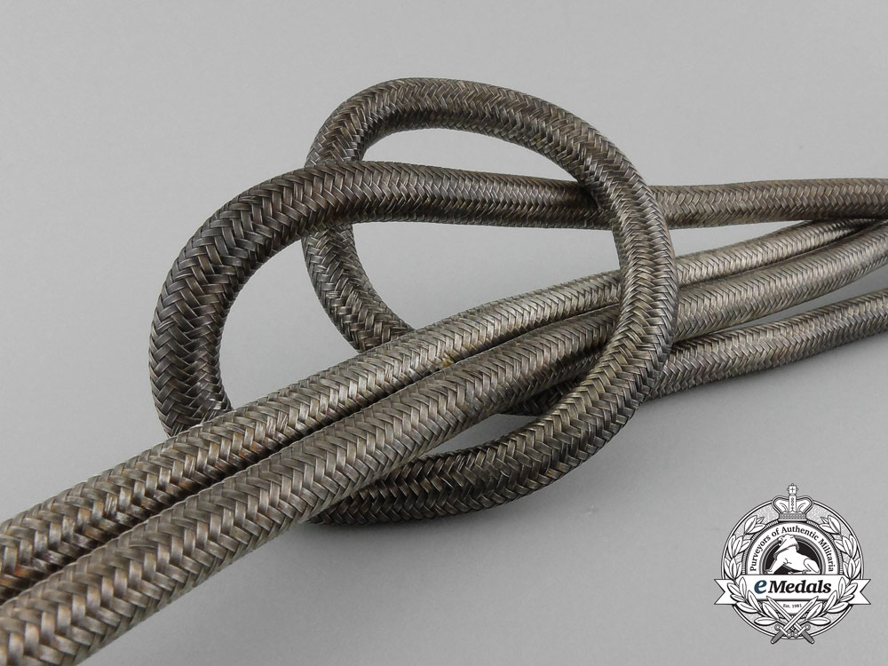 An Extremely Fine Quality Wehrmacht Heer (Army) Officer's Aiguillette