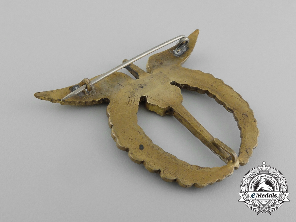 Czechoslovakia. A Pilot Badge, French-Made Version, c.1943