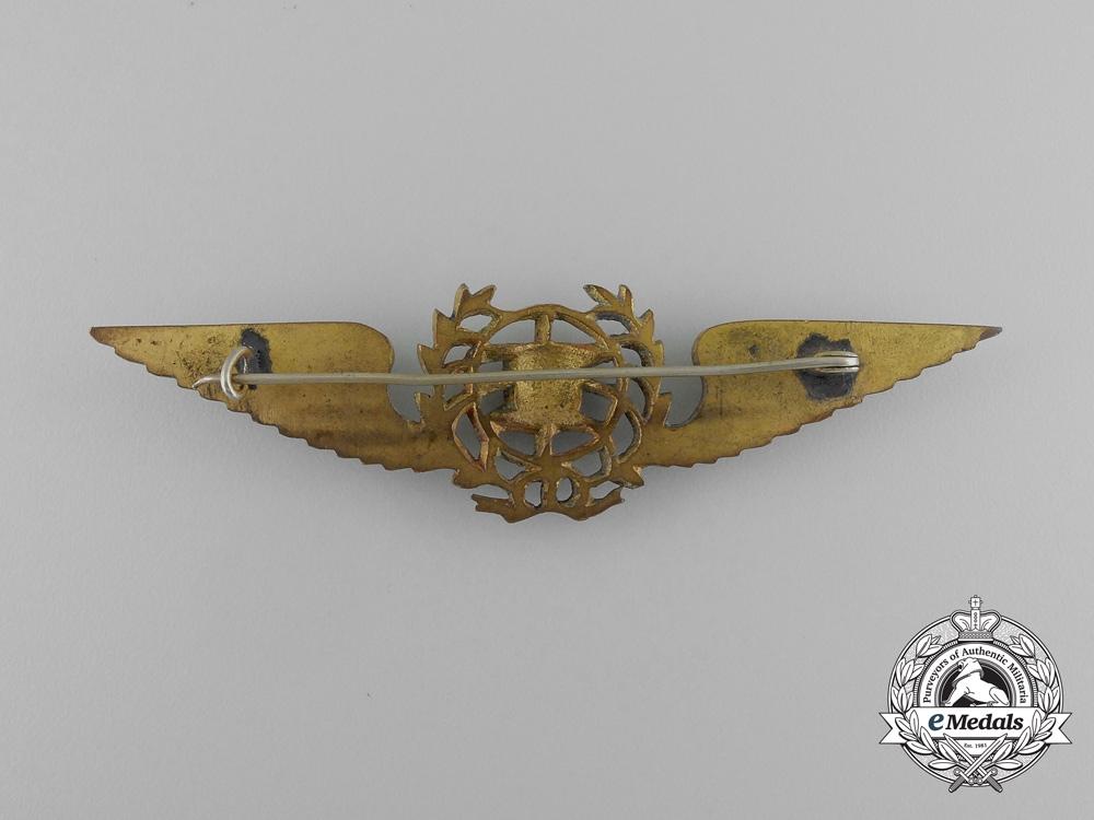 A Second War Era Portuguese Pilot's Badge