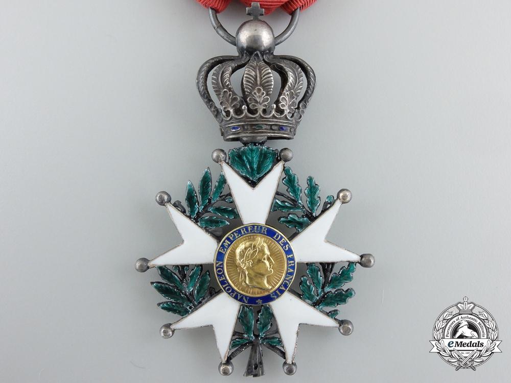 """An 1851 French Legion D'Honneur; Knight, Model """"La Presidence"""""""