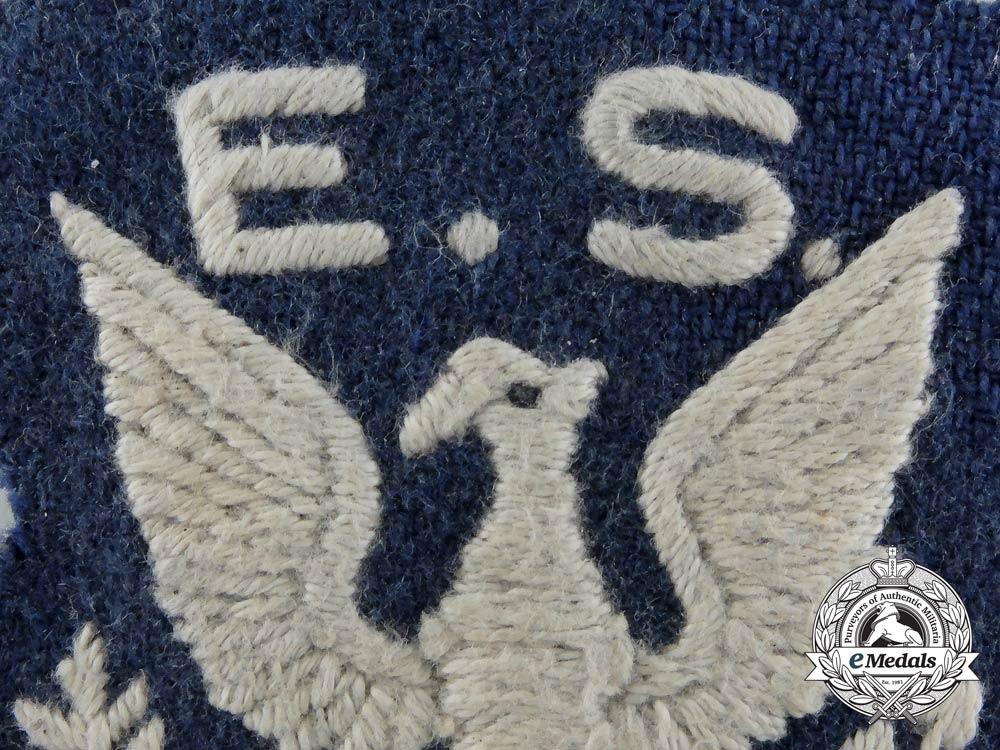 A Rare Second War Royal Air Force (RAF) Eagle Squadron Shoulder Patch