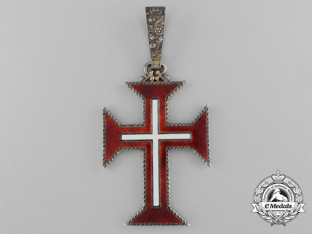 Portugal. A Military Order of Christ, Grand Cross Set with Case