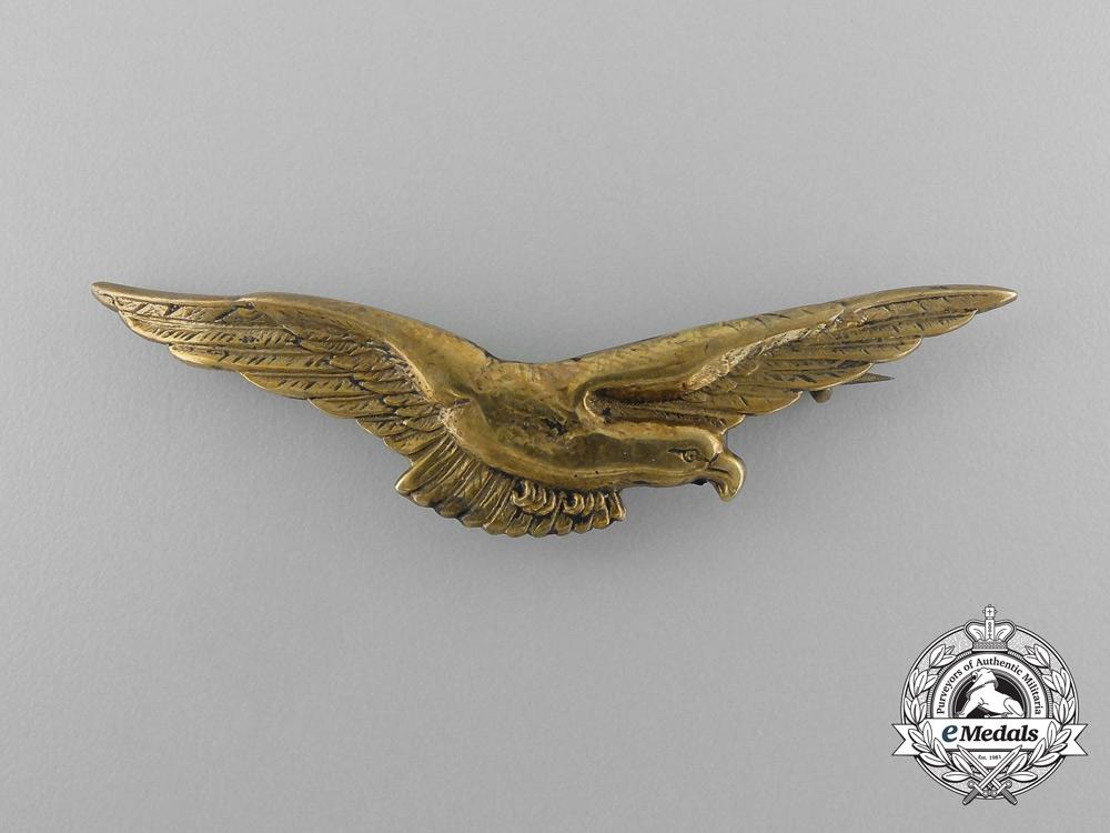 A Bulgarian Secret Air Force Pilot's Badge