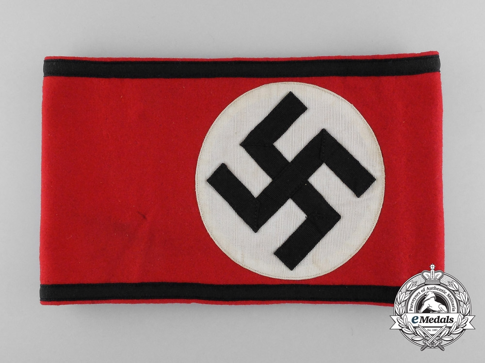 A Tunic Removed SS Member's Armband; RZM Tagged