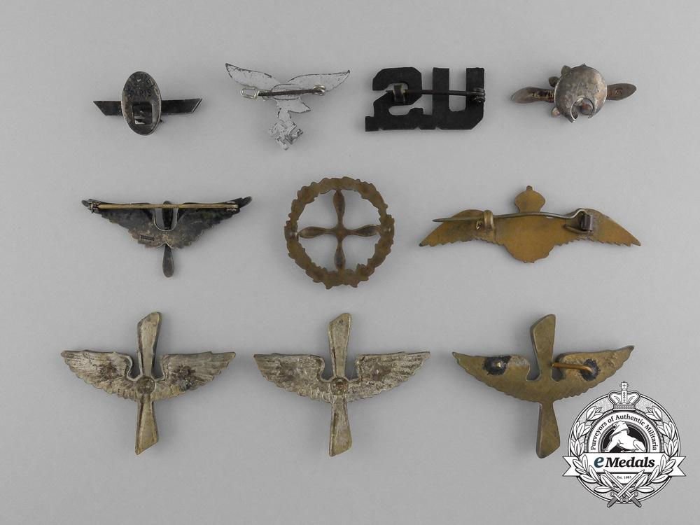 A Grouping of International Aviation Pins