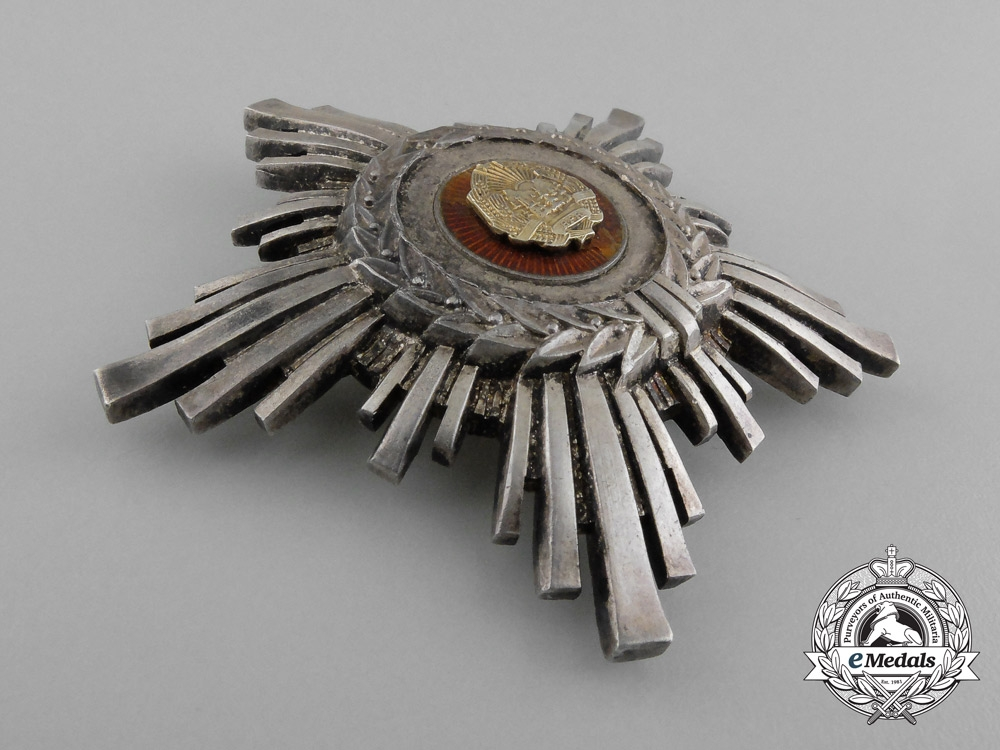 An Order of the Star of the People's Republic of Romania, 3rd Class (1948-1966)