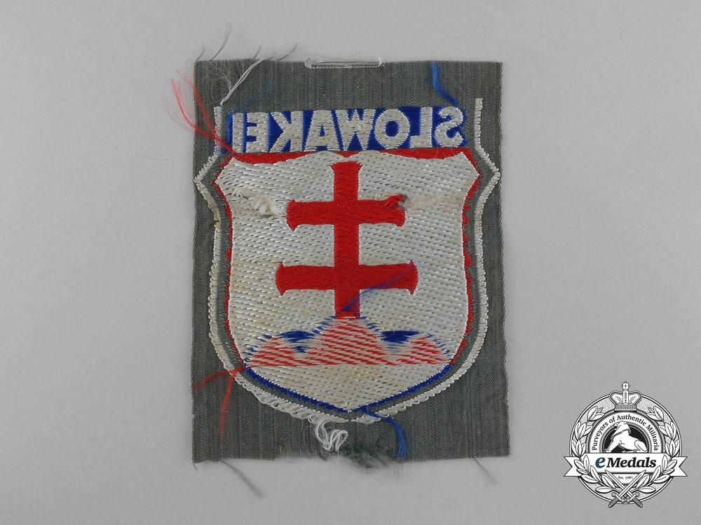 A Slovakian VolunteersWehrmachtArm Shield
