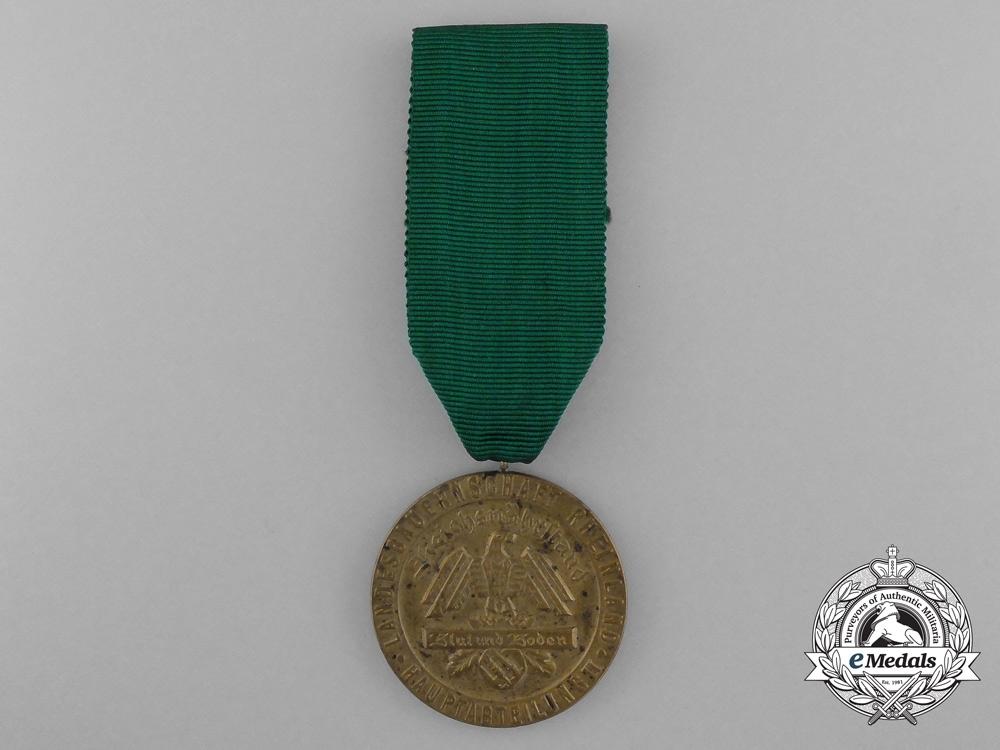 """A Blut und Boden Rheinland Landesbauernschaft """"For Exceptional Achievements"""" Medal"""