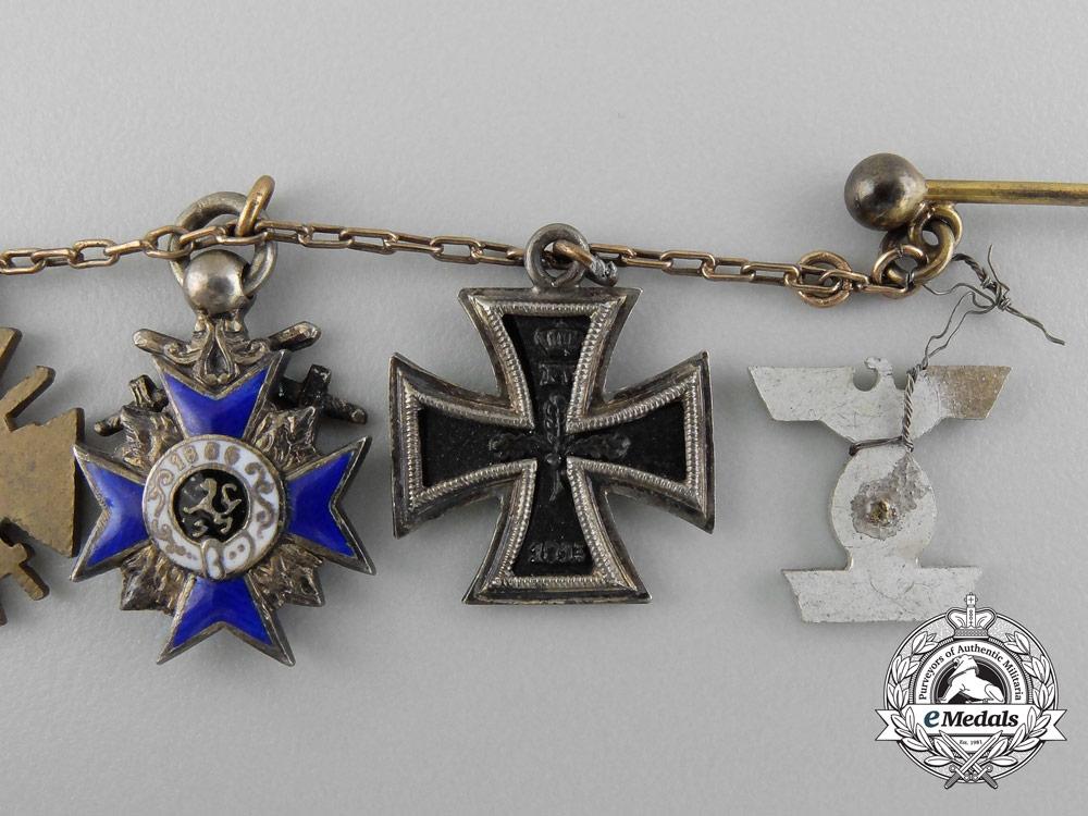 A Superb Bavarian First War Observers' Grouping to Lieutenant Fritz Hofmann