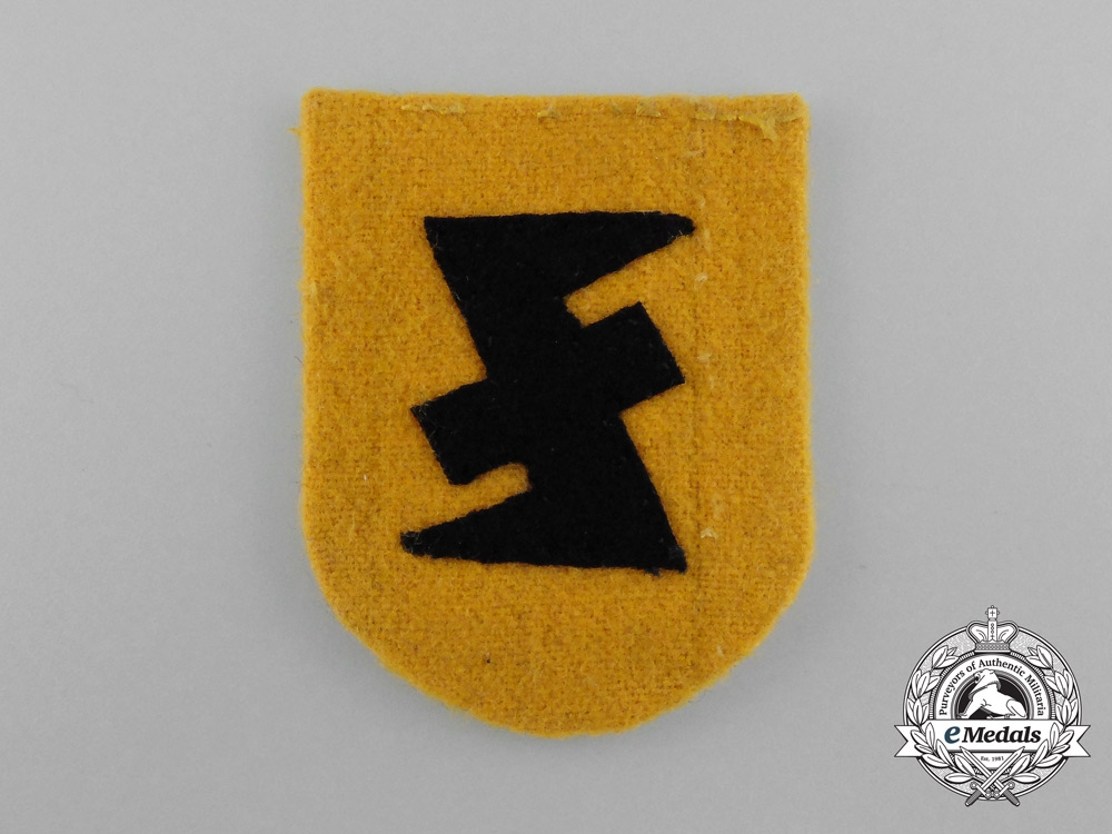 A National Socialist Movement in the Netherlands Sleeve Patch