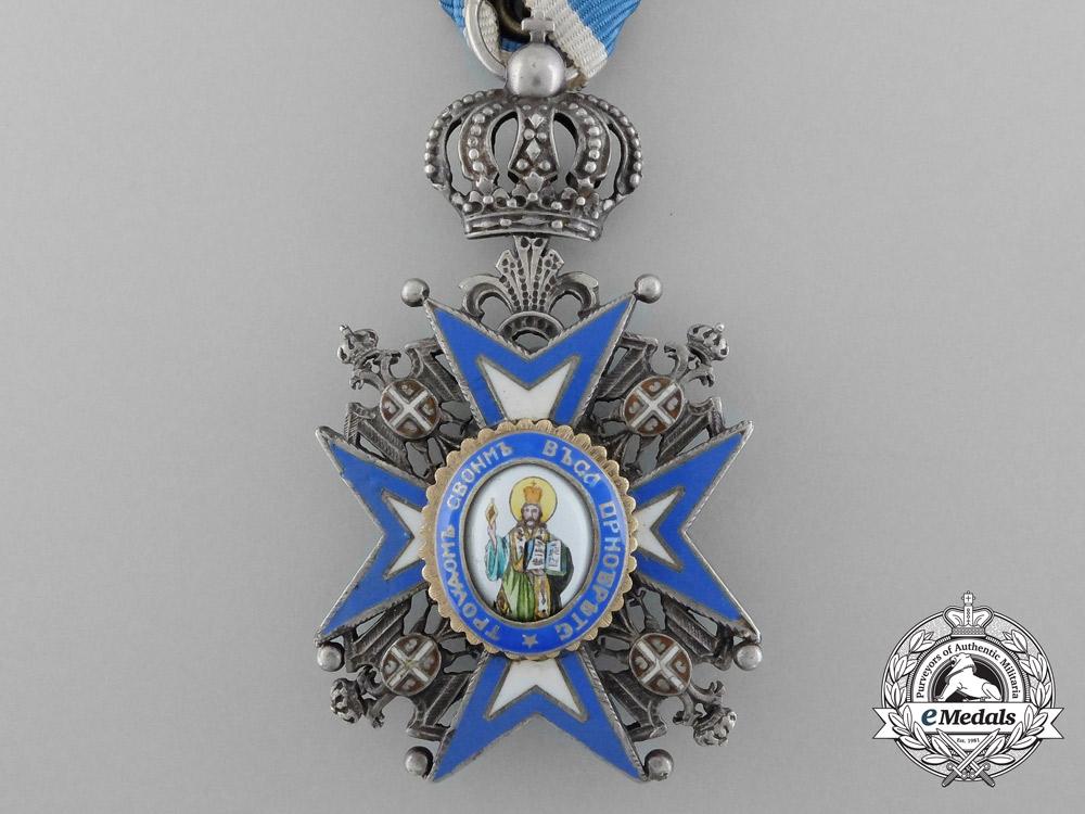 Serbia, Kingdom. An Order of St.Sava, Knight, c.1935