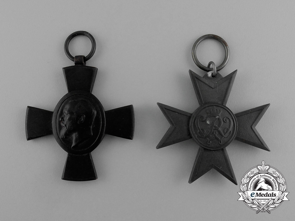 Two First War German Imperial Crosses