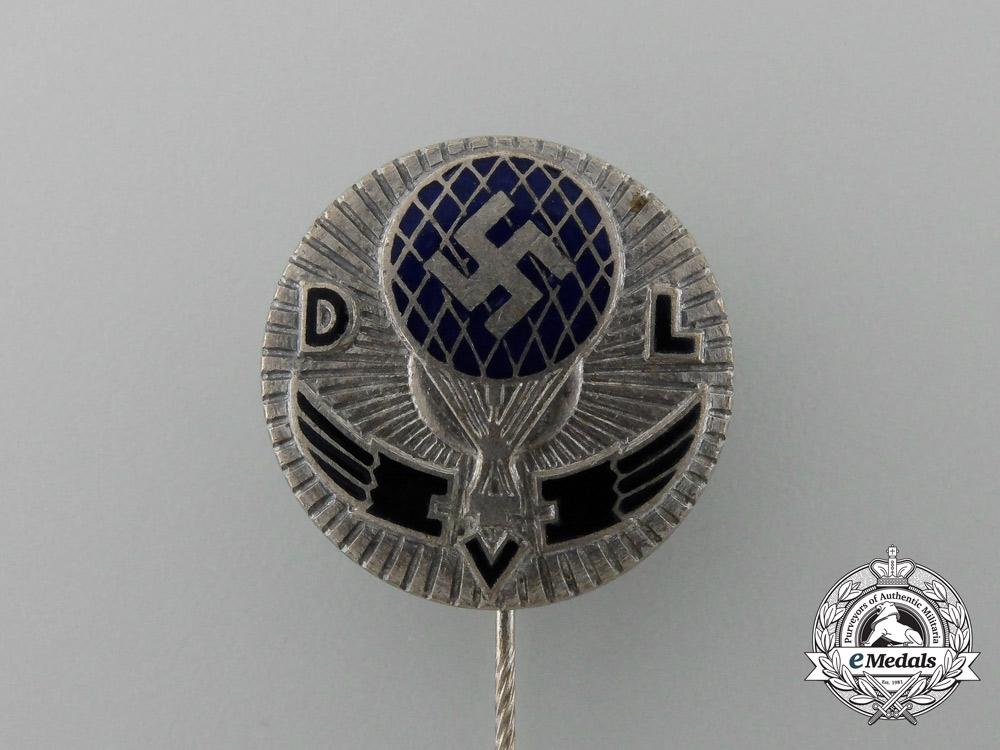 A German Air Sports Association Balloon Pilot Stick Pin
