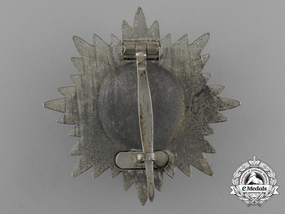 A Silver Grade Eastern People Bravery Decoration; 1st Class by R. Wächtler & Lange in its Case of Issue