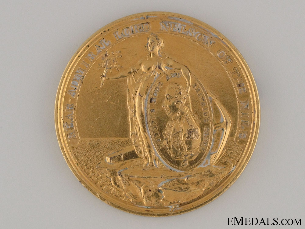 Davison's Nile Medal 1798 - Petty Officers