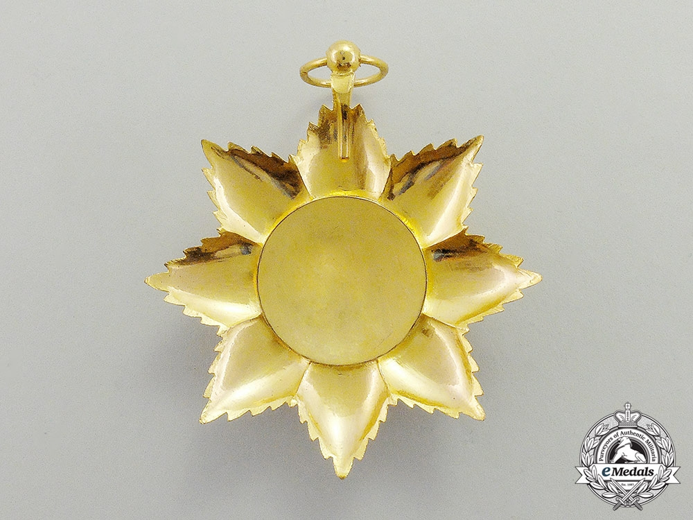 A Comoros Islands Royal Order of the Star of Anjouan, Knight