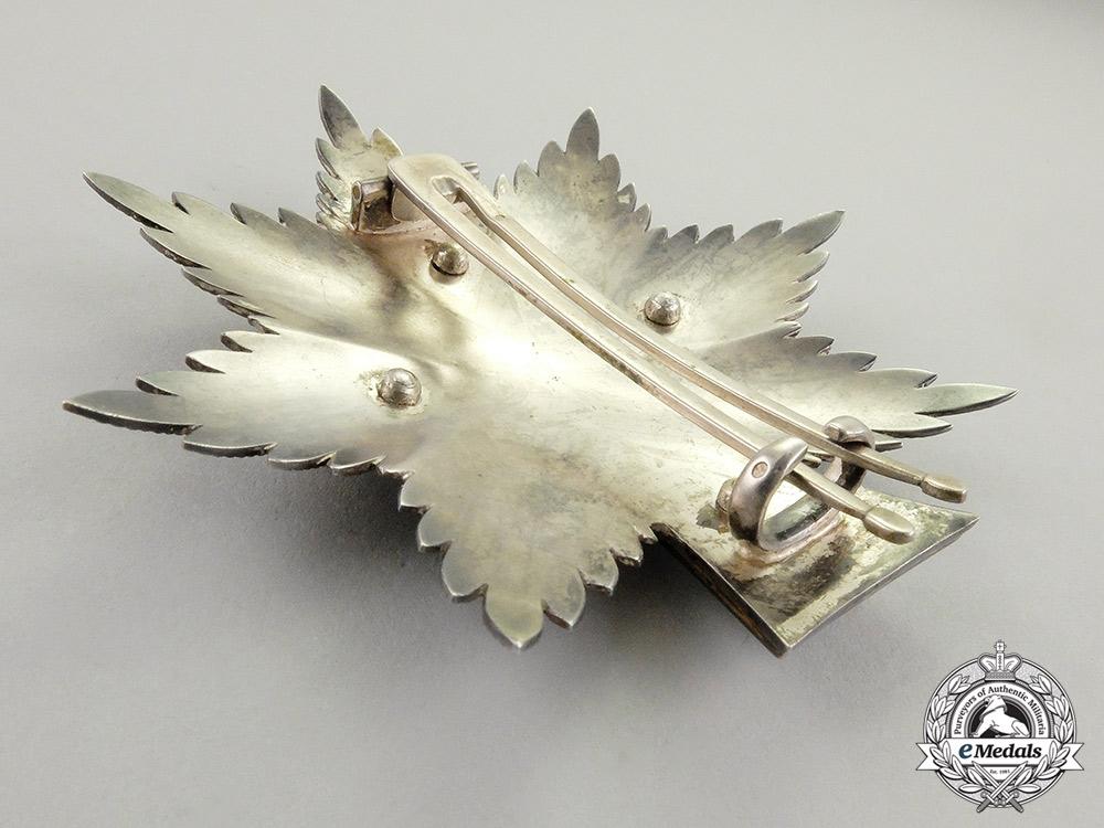 Denmark. An Order of Dannebrog, Grand Cross Breast Star (France Import)