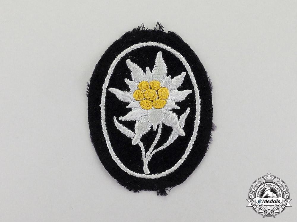 Germany  An Unworn Waffen-SS Gebirgstruppen Edelweiß Sleeve