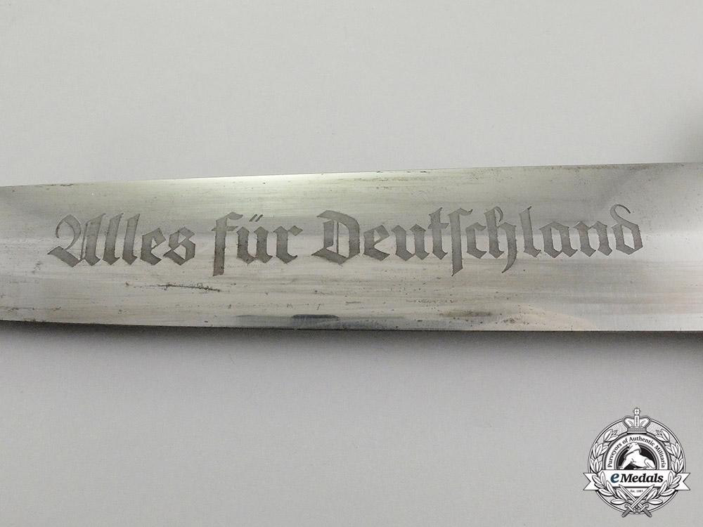 An Early Model 1933 SA Dagger by Ed. Wüsthof of Solingen