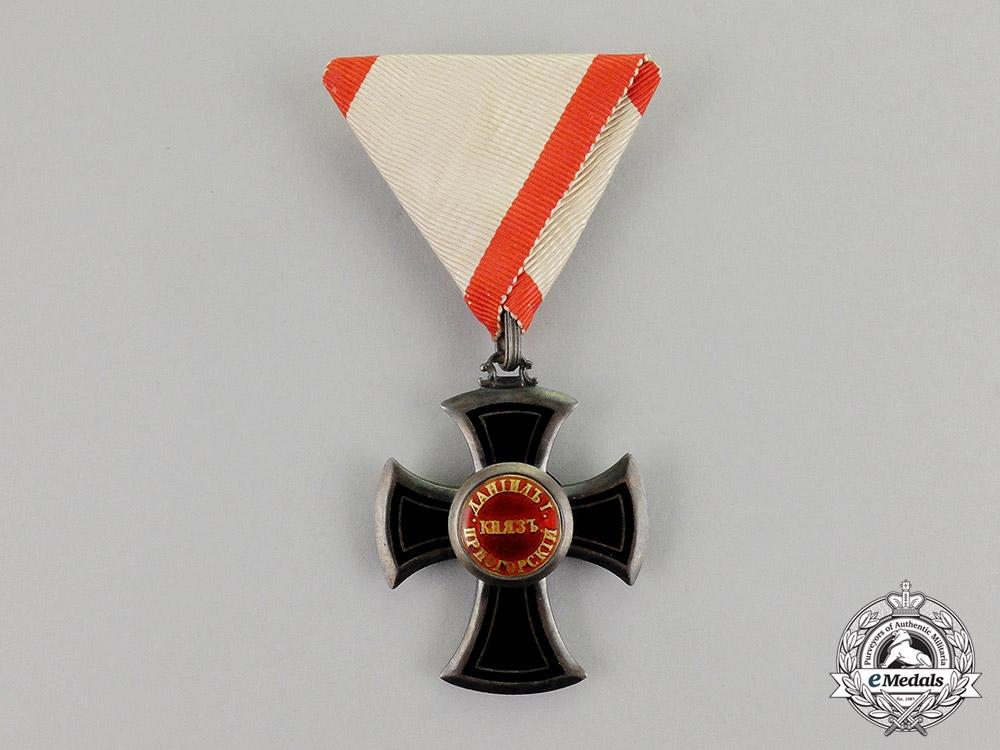 Montenegro, Kingdom. An Order of Danilo, Fifth Class Knight, c.1900