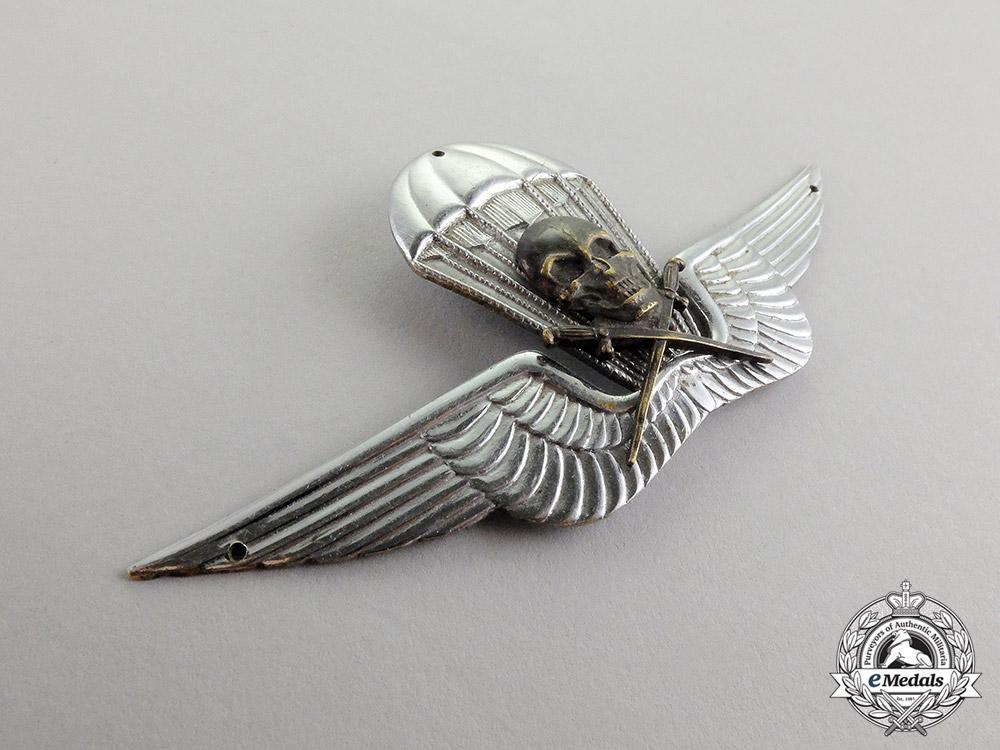 A Very Rare Second War 1st Hungarian Parachute Badge