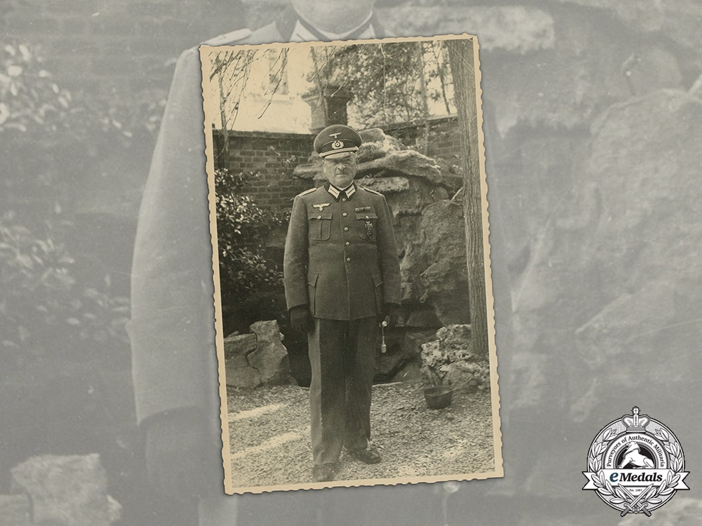 Germany. A Wartime Photo of EK & Wound Badge Recipient