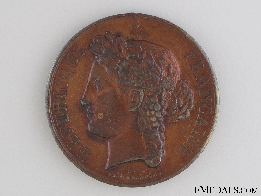 Department of the Somme Firefighter Medal 1892