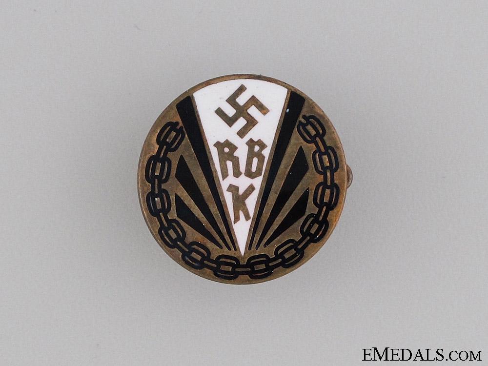Disabled Veteran's Society Badge