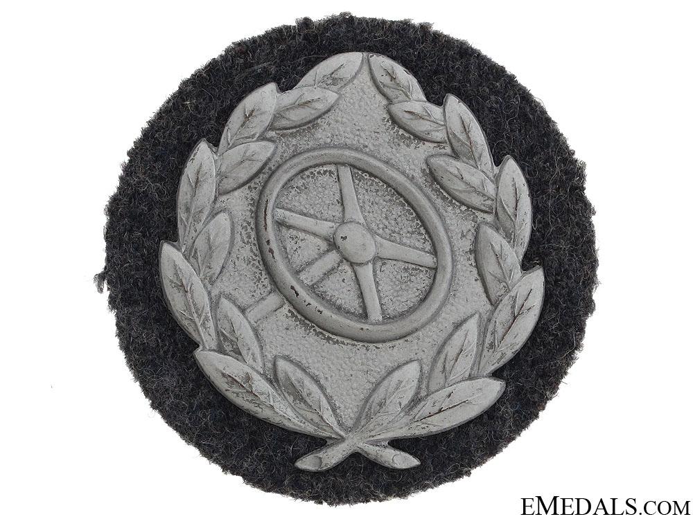 Driver Proficiency Badge - Silver Grade