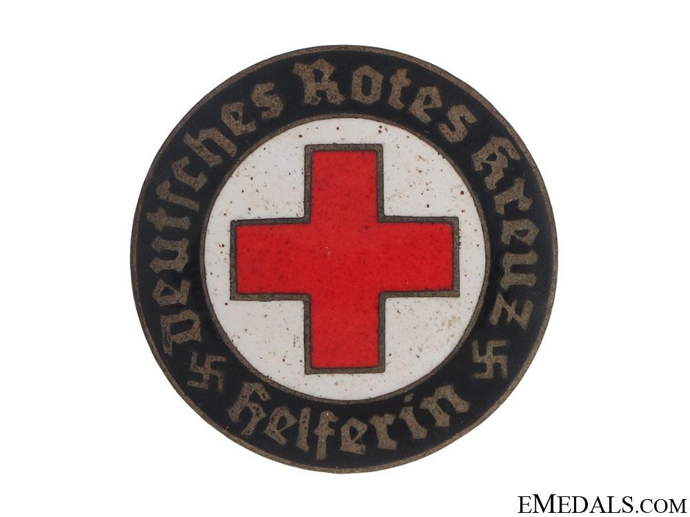 DRK Helper's Service Badge