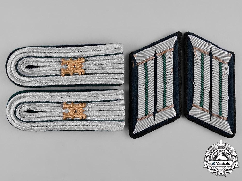 Germany, Heer. A Set of Heeresverwaltung Officer's Uniform Rank Insignia