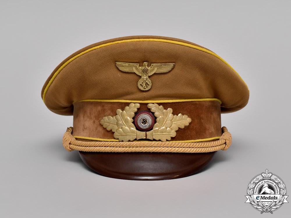 Germany. An NSDAP Reichsleitung Level Visor Cap