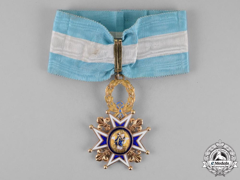 Spain, Kingdom. An Order of Charles III in Gold, Commander, c.1880