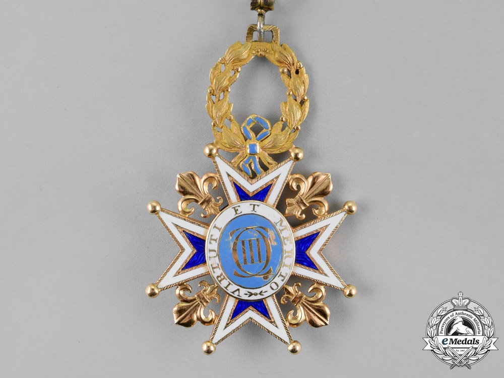 Spain, Kingdom. An Order of Charles III in Gold, Commander, c.1880