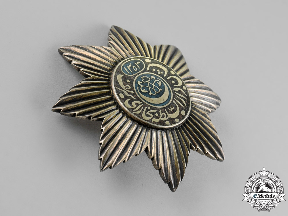Russia, Empire. Emirate of Bukhara. An Order of the Noble Bukhara, 1st Class Star, c.1895