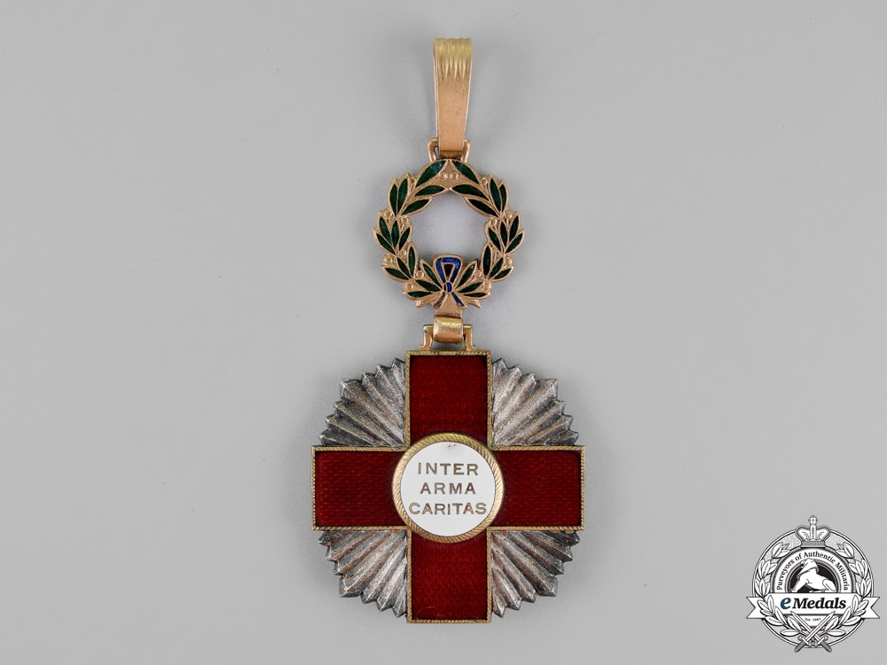 Portugal, Kingdom. A Red Cross Decoration, 2nd Class Commander, c.1918