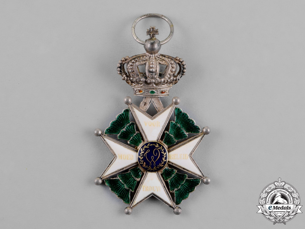 Netherlands, Kingdom. A Military Order of William (MWO), 4th Class Knight, c.1885