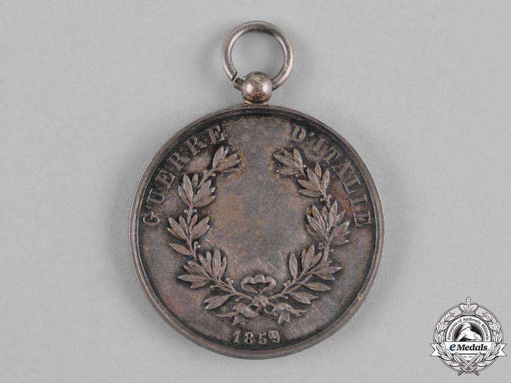 Italy, Kingdom. An Al Valore Militare, Silver Grade, French Issue, c.1859