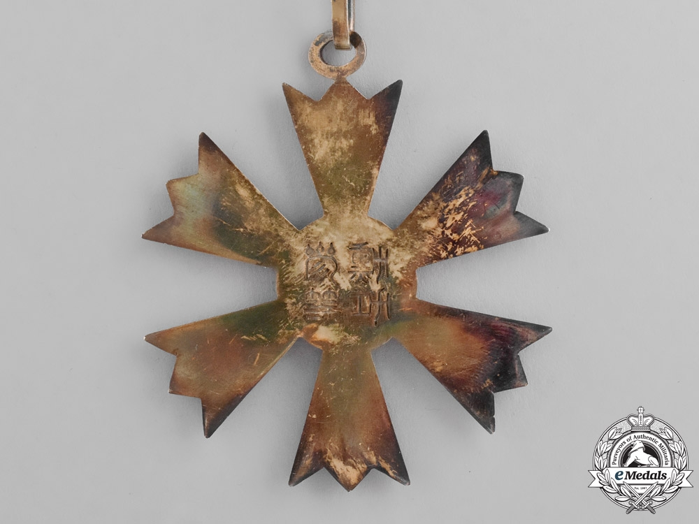 Korea, Empire. An Order of the Eight Trigrams, Third Class Badge, c.1910
