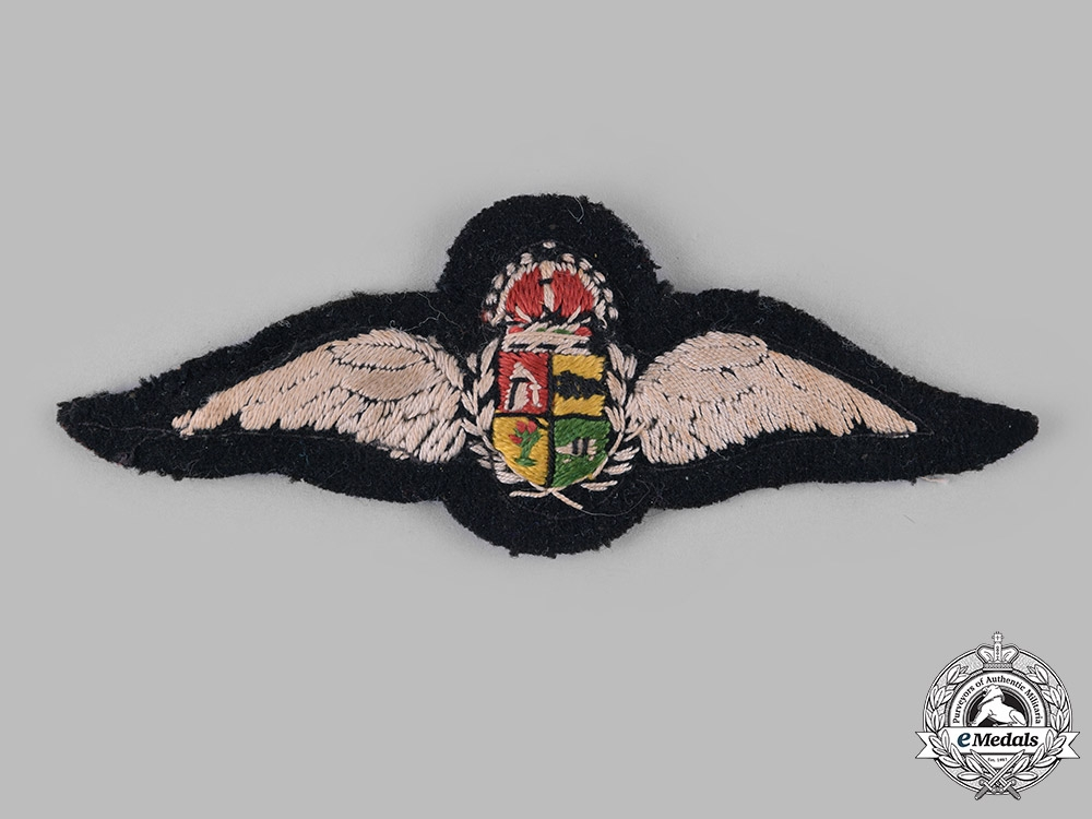 South Africa, Republic. A Second War South African Air Force (SAAF) Pilot's Wing